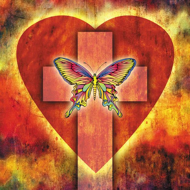 Fluture peste inimă