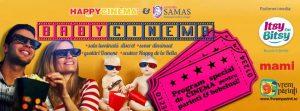 BabyCinema - Hai la film cu bebelusul din burtica/la purtator @ Happy Cinema București | București | Municipiul București | România