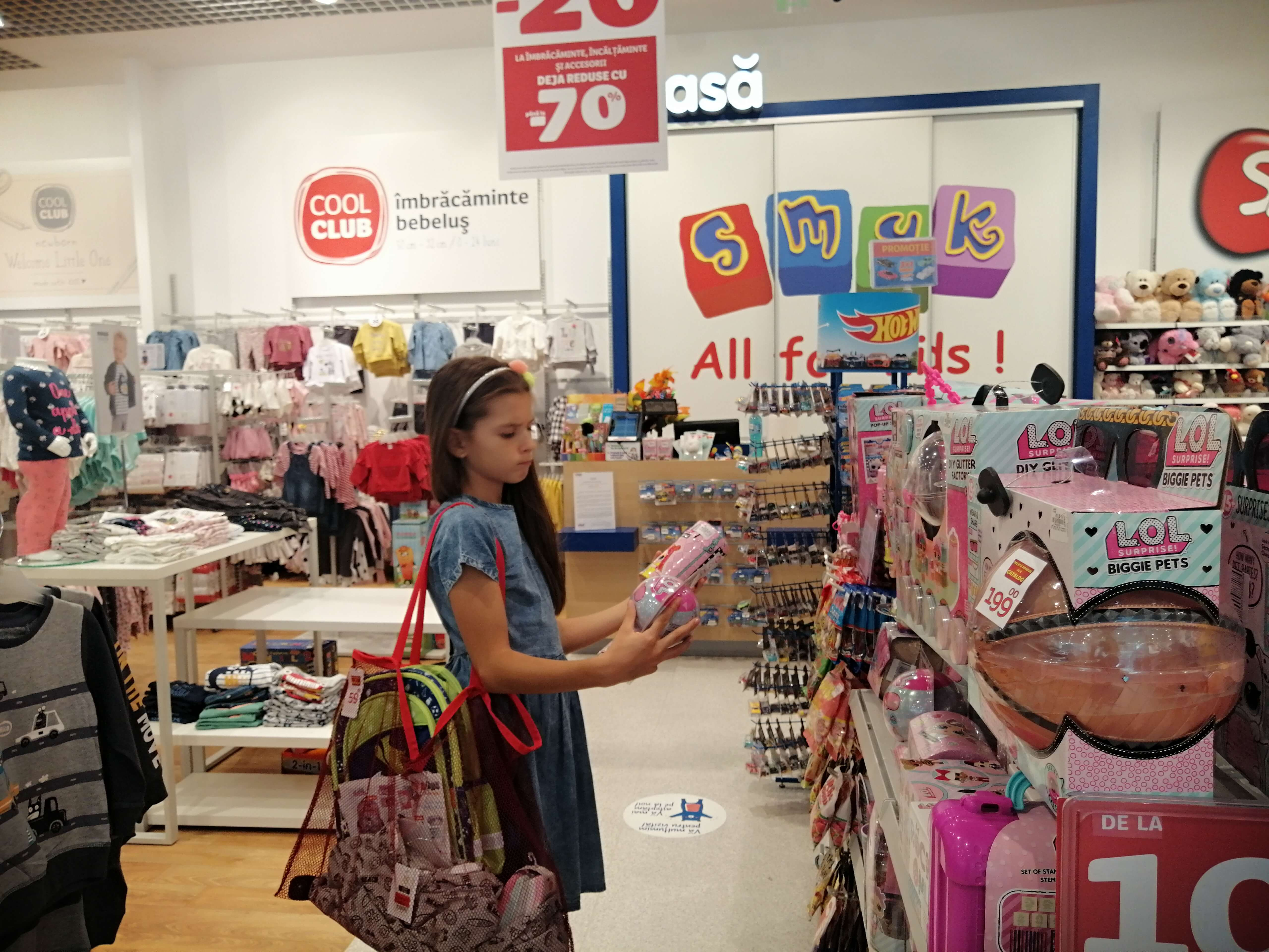 cumpărături pentru școală