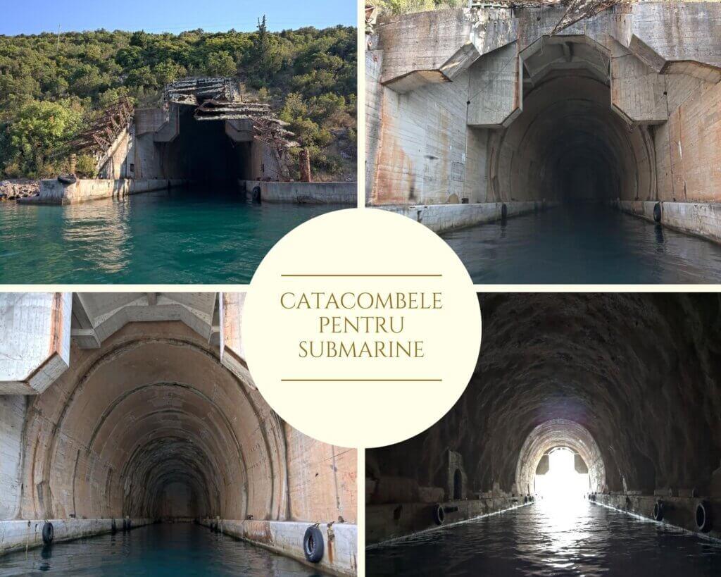 catacombe submarine golful kotor